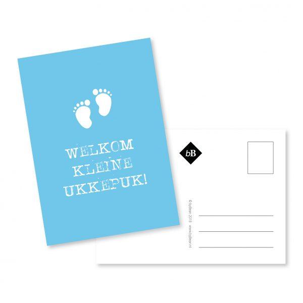 geboortekaartje | ukkepuk | grafisch ontwerp | Deventer