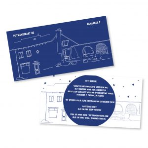Verhuiskaart | Gijs & Phia