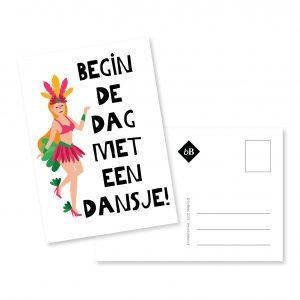 Kaartje - Begin de dag met een dansje