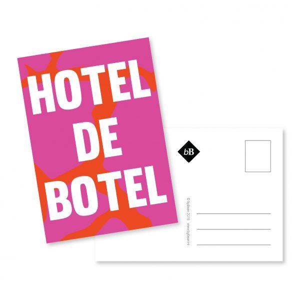 Kaartje - Hotel de botel