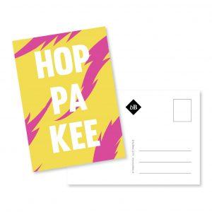 Kaartje - Hoppakee