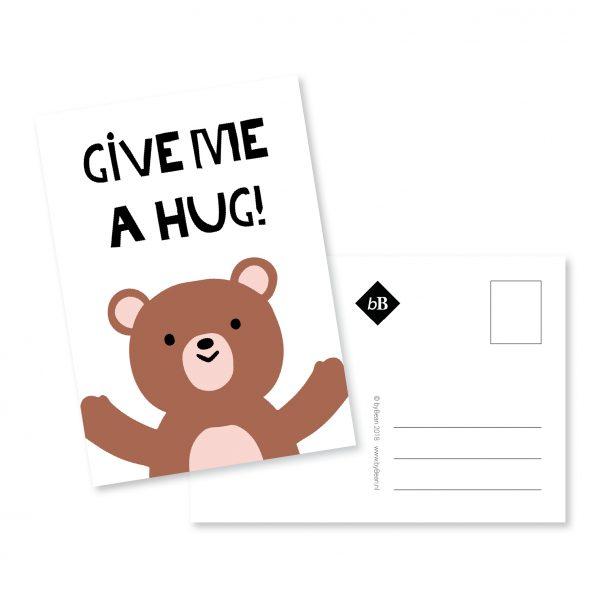 Kaart Mockup Give me a hug | byBean