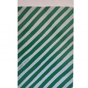 Kadozakjes Groene strepen Studio Ditte byBean