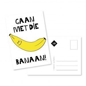 Kaartje | Gaan met die banaan | byBean