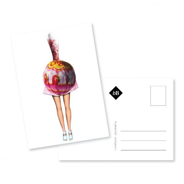 kaartje collage lola lollipop booninbeeld